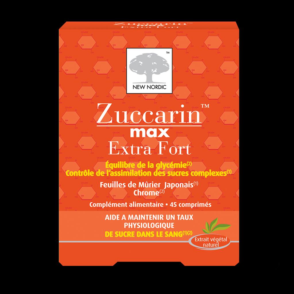 zuccarin extra fort r duit le taux de sucre dans le sang vitalco. Black Bedroom Furniture Sets. Home Design Ideas