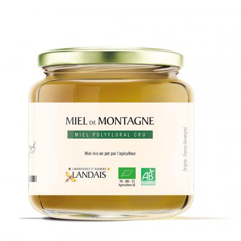 Miel cru de Montagne bio